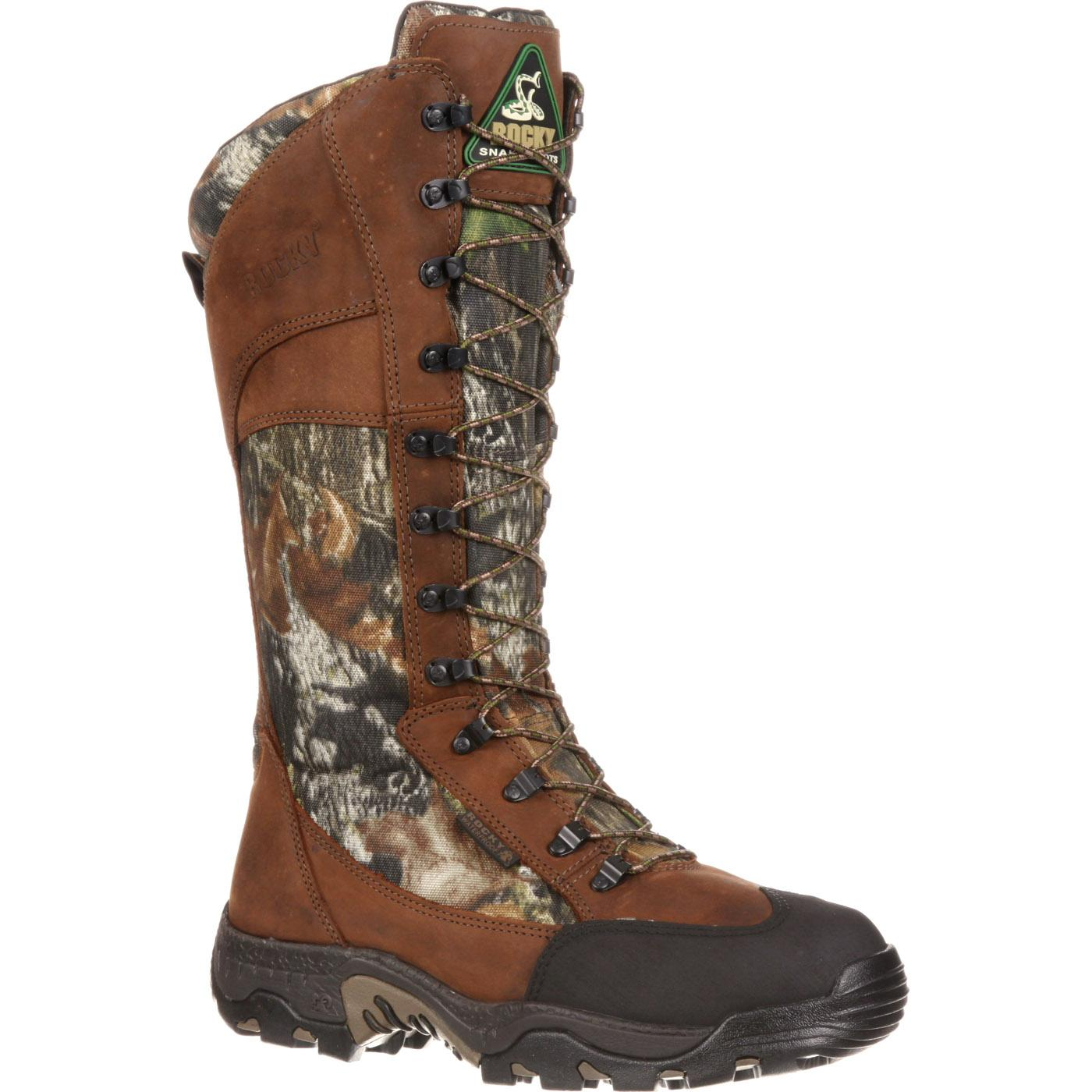Rocky Classic Lynx Waterproof Side-Zip Snake Boots, , large