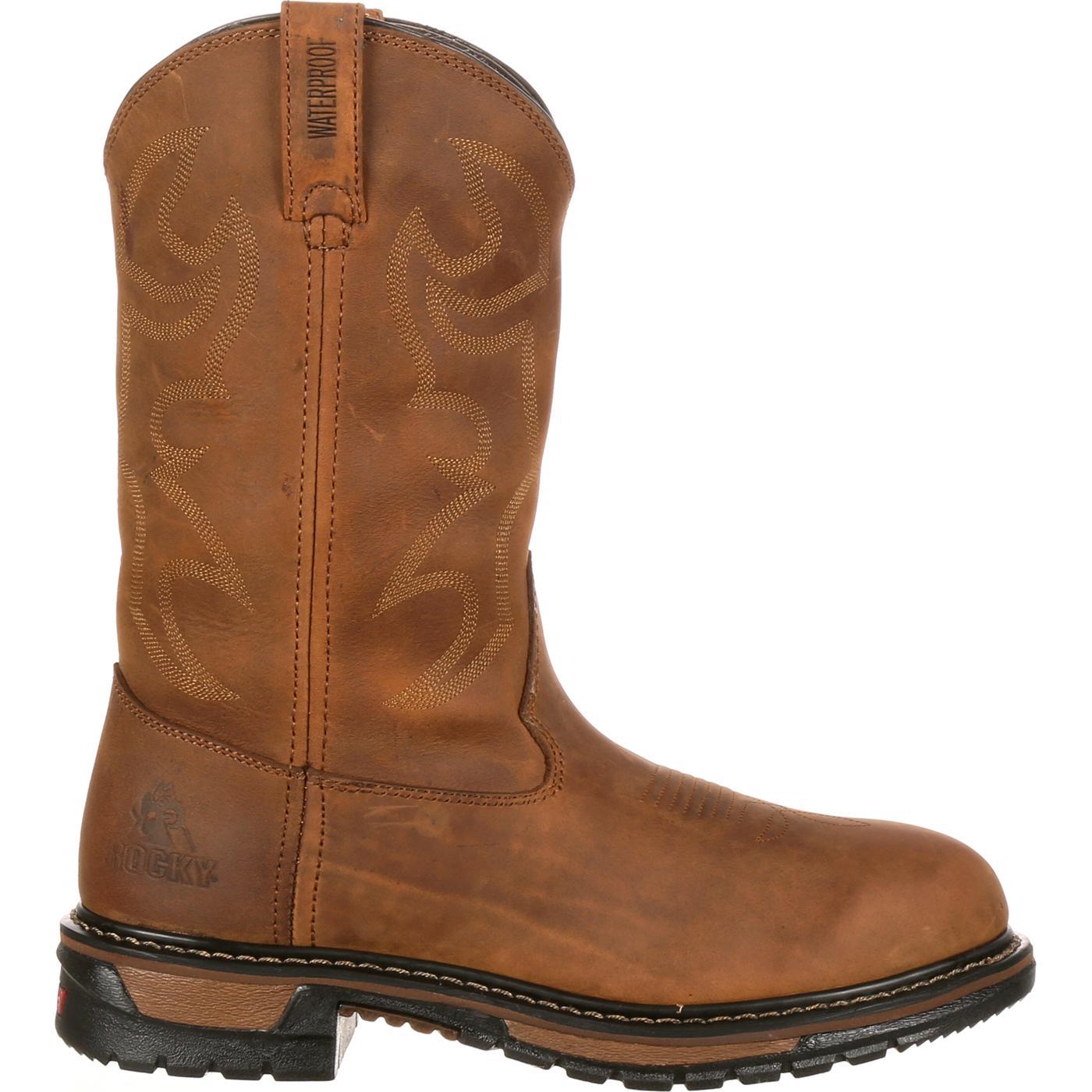 6792605f12b Rocky Original Ride Branson Roper Waterproof Western Boots