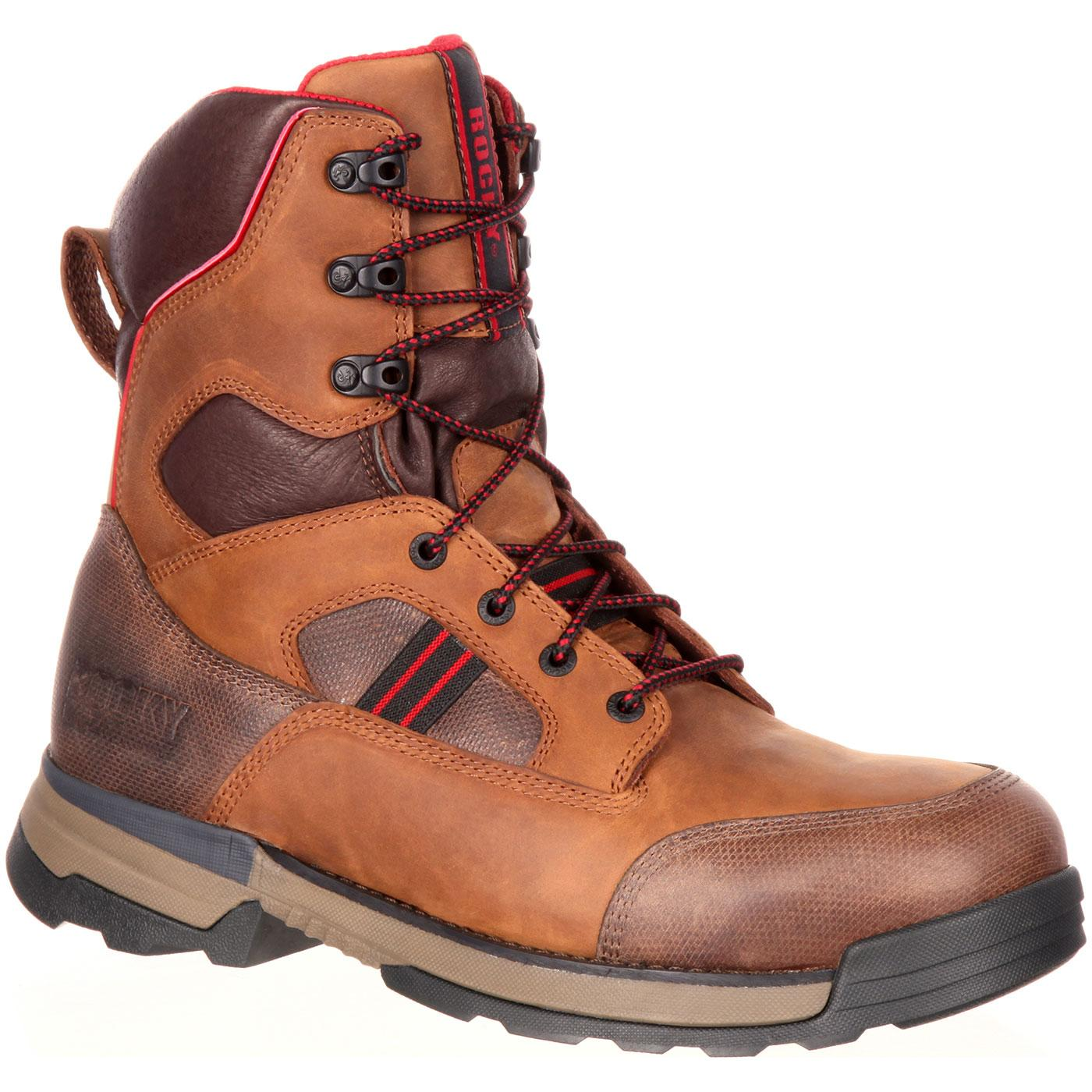 Rocky Mobilwelt: Men's Composite Toe Waterproof Work Boots