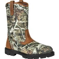 Rocky Cornstalker Pull-On Mossy Oak® Outdoor Boot, , medium