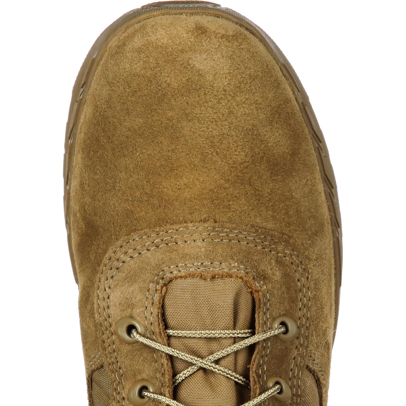 Rocky  Lightweight Coyote Brown Commercial Military Boot fc2f9b27a