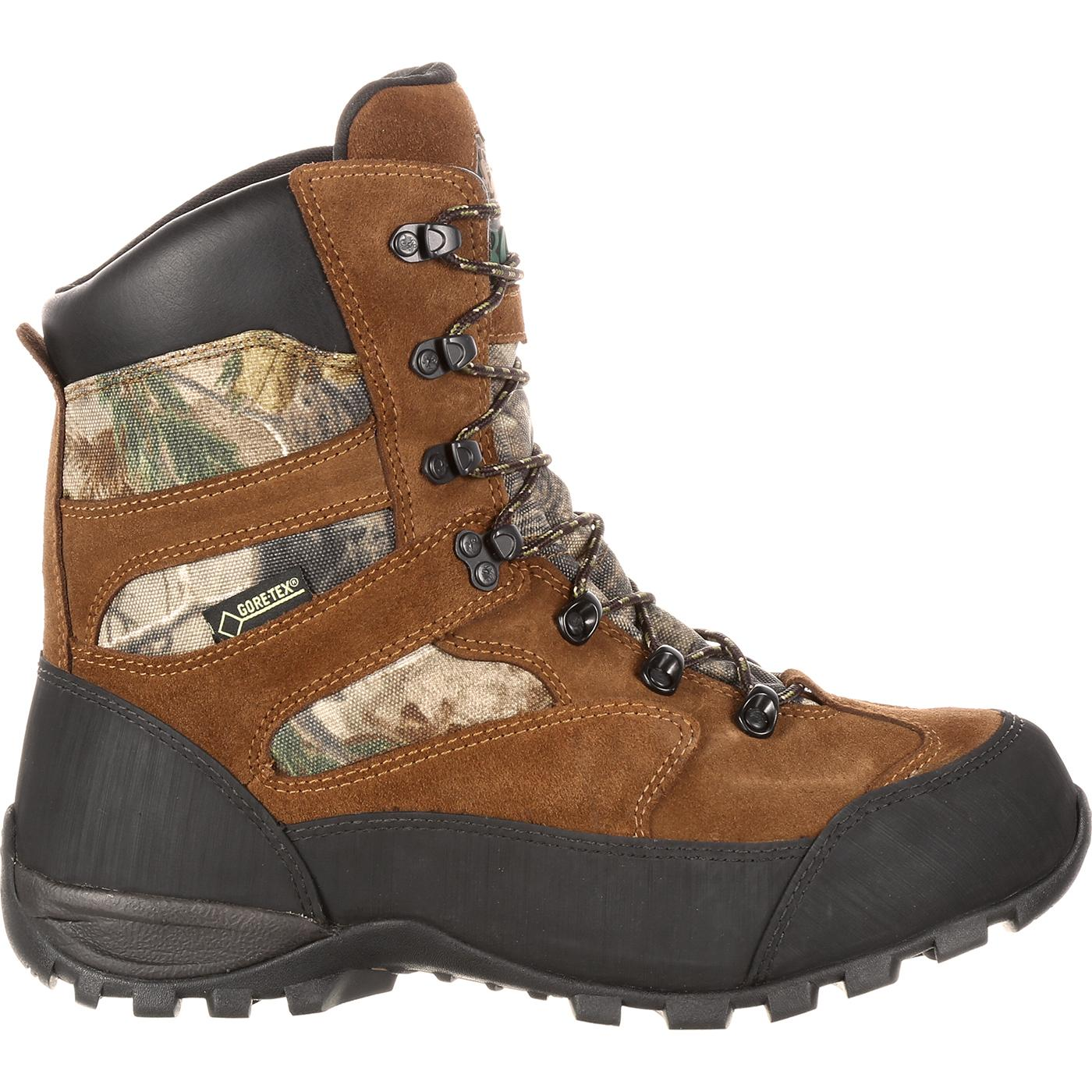 Rocky Boots: GORE-TEX Waterproof Insulated Outdoor Boot