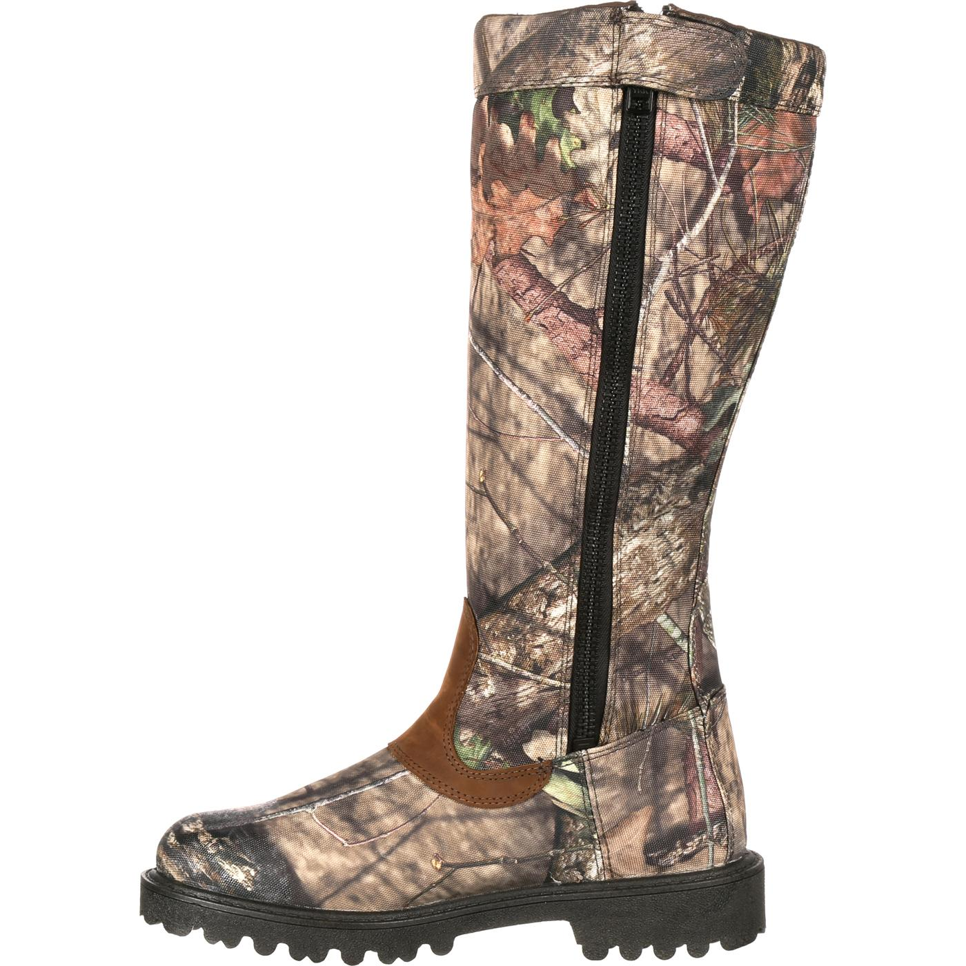 Rocky Low Country Waterproof Camo Snake Boots Rks0232