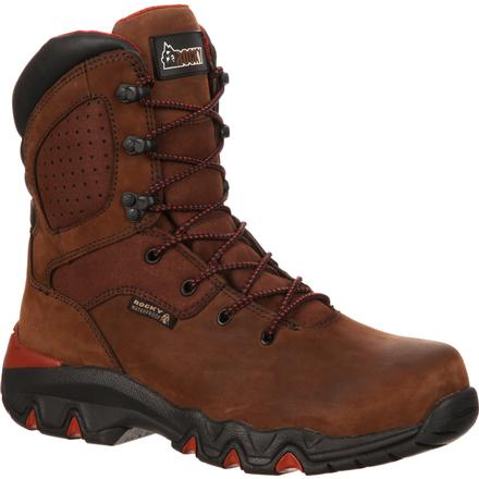 Rocky Bigfoot Steel Toe Waterproof Work Boot, , large