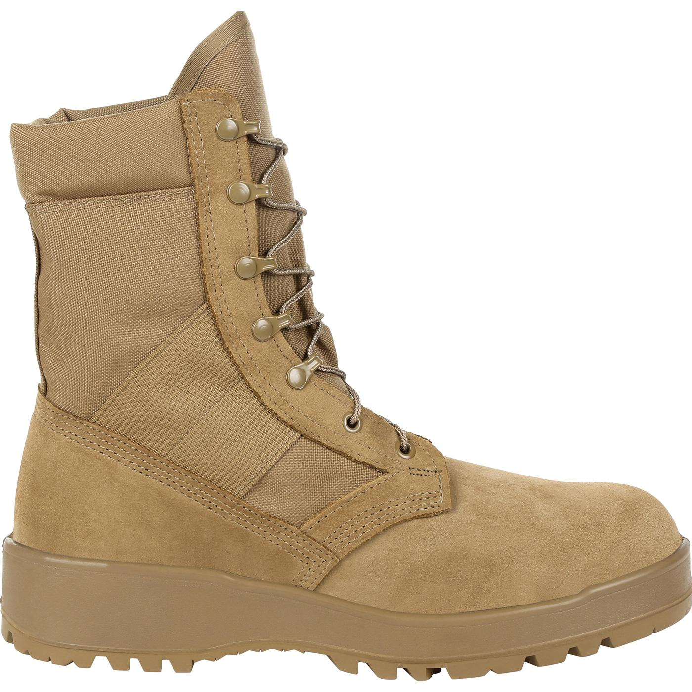 Rocky Entry Level Hot Weather Coyote Brown Military Boot