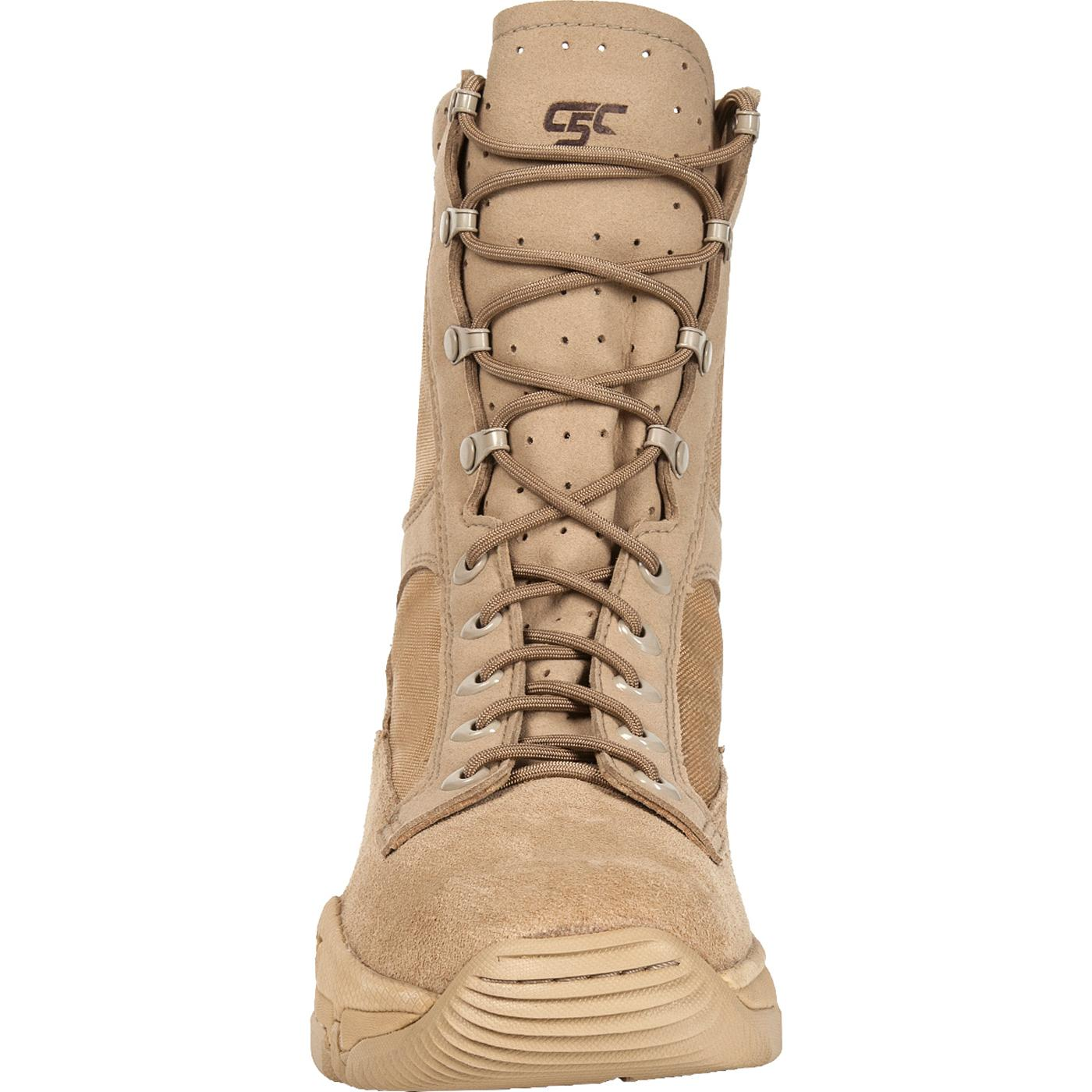 Rocky C5c Desert Tan Commercial Military Boots Rkyc003