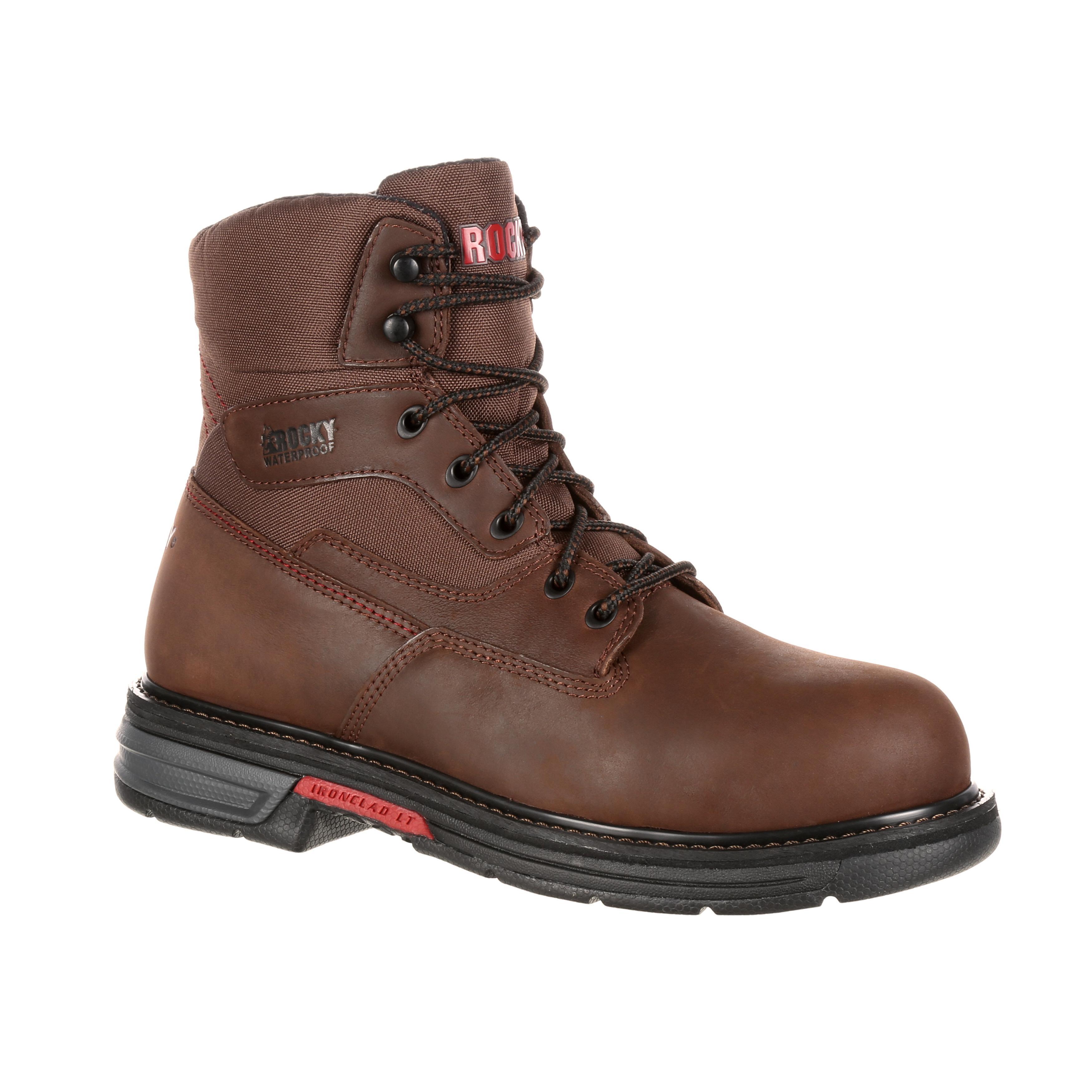 Rocky Ironclad LT: Men's Lightweight Waterproof Work Boots