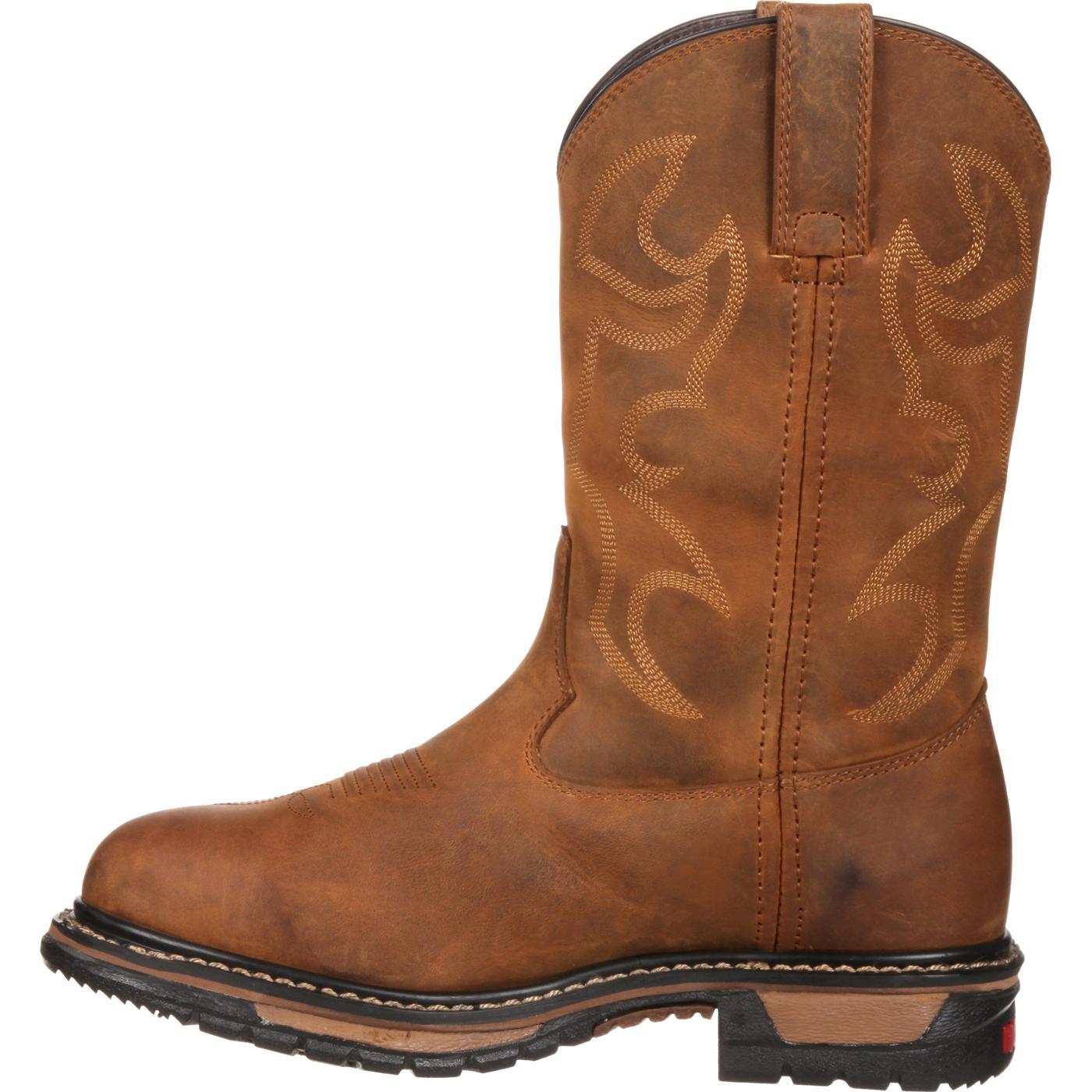 Rocky Women S Original Ride Waterproof Western Boot Rkyw082