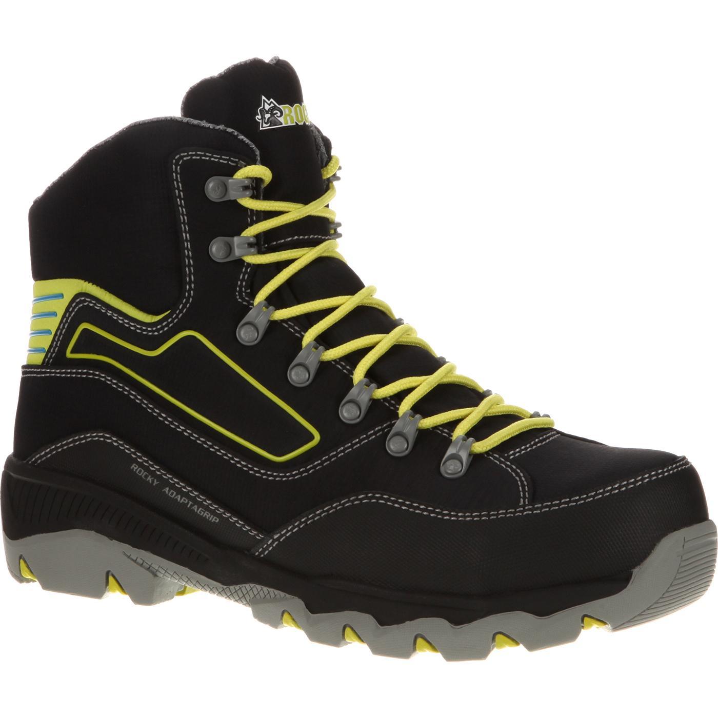 f8d2e8b758f Rocky AdaptaGrip Composite Toe Athletic Work Hiker