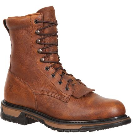 Rocky Original Ride Steel Toe Western Lacers, , large