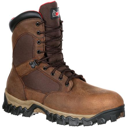 Rocky AlphaForce Composite Toe Waterproof 600G Insulated Work Boot, , large