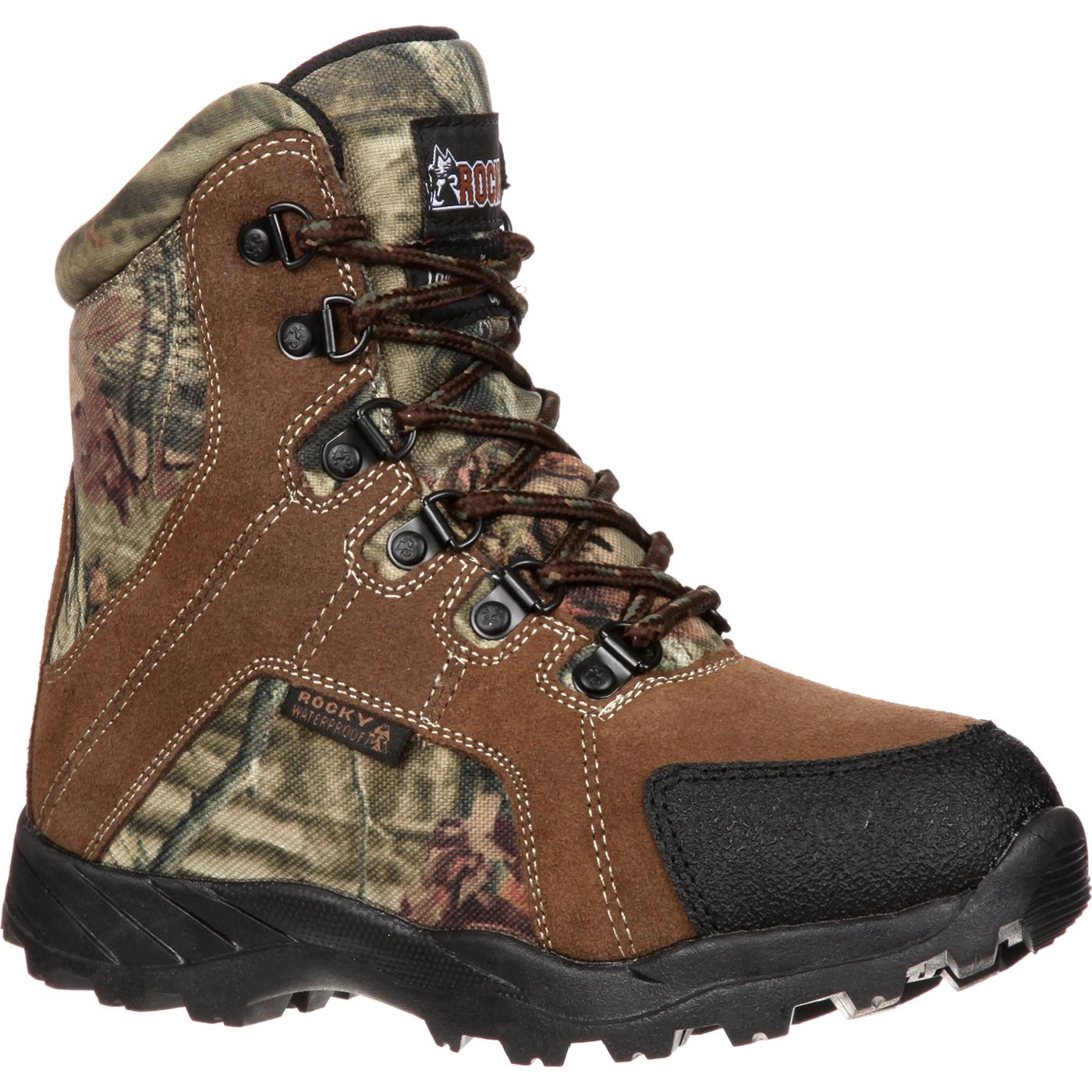 9191b77ba Rocky Kids  Waterproof Insulated Camouflage Outdoor Boot