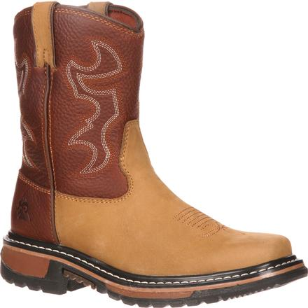 Rocky Ride Big Kid Western Boot, , large