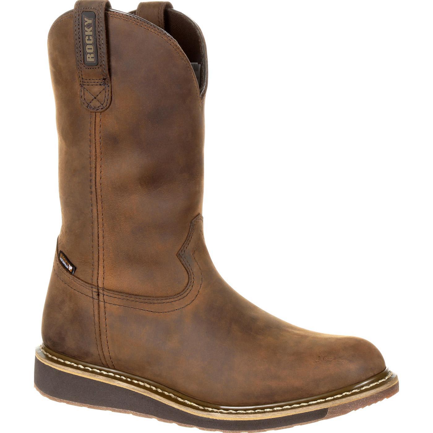 Rocky Cody Waterproof Pull On Western Boot Rkw0235
