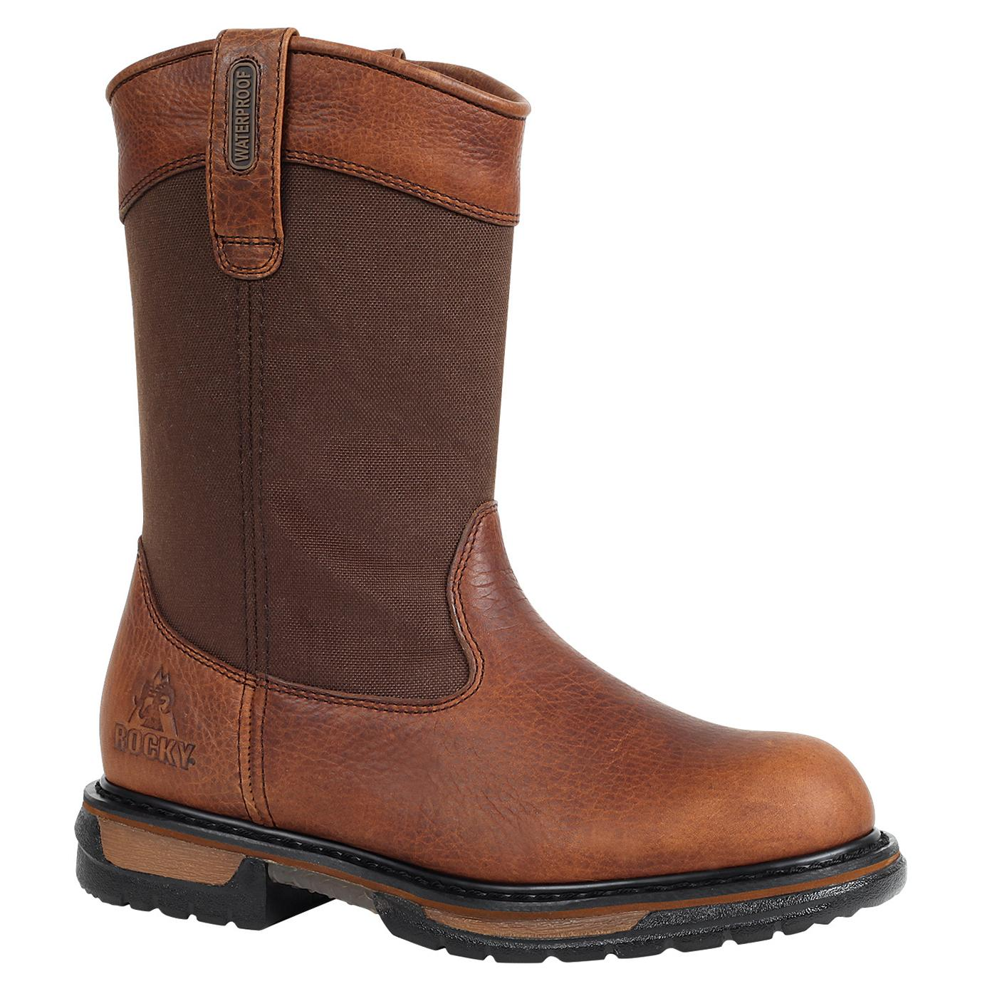 a98f9c6e5e5 Rocky IronClad Steel Toe Waterproof Wellington Boot