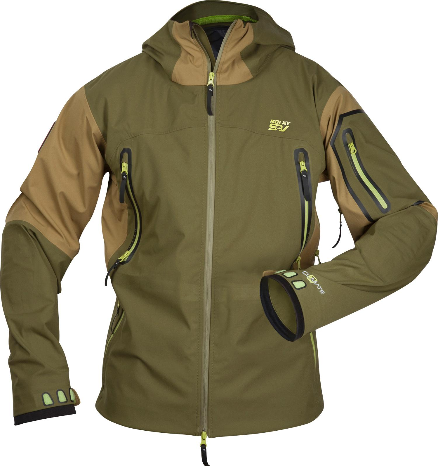 rocky s2v provision waterproof insulated survival jacket