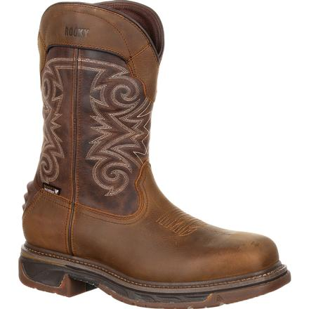 Rocky Iron Skull Composite Toe Waterproof Western Boot