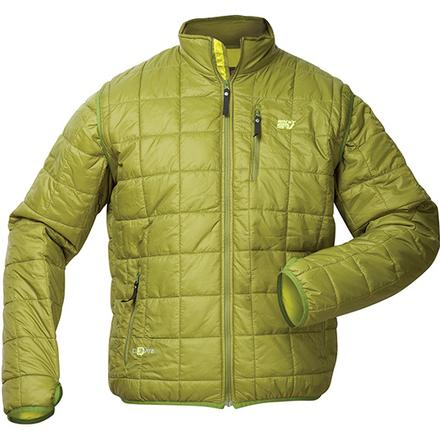 Rocky S2V Agonic Mid-Layer Jacket, GREEN, large