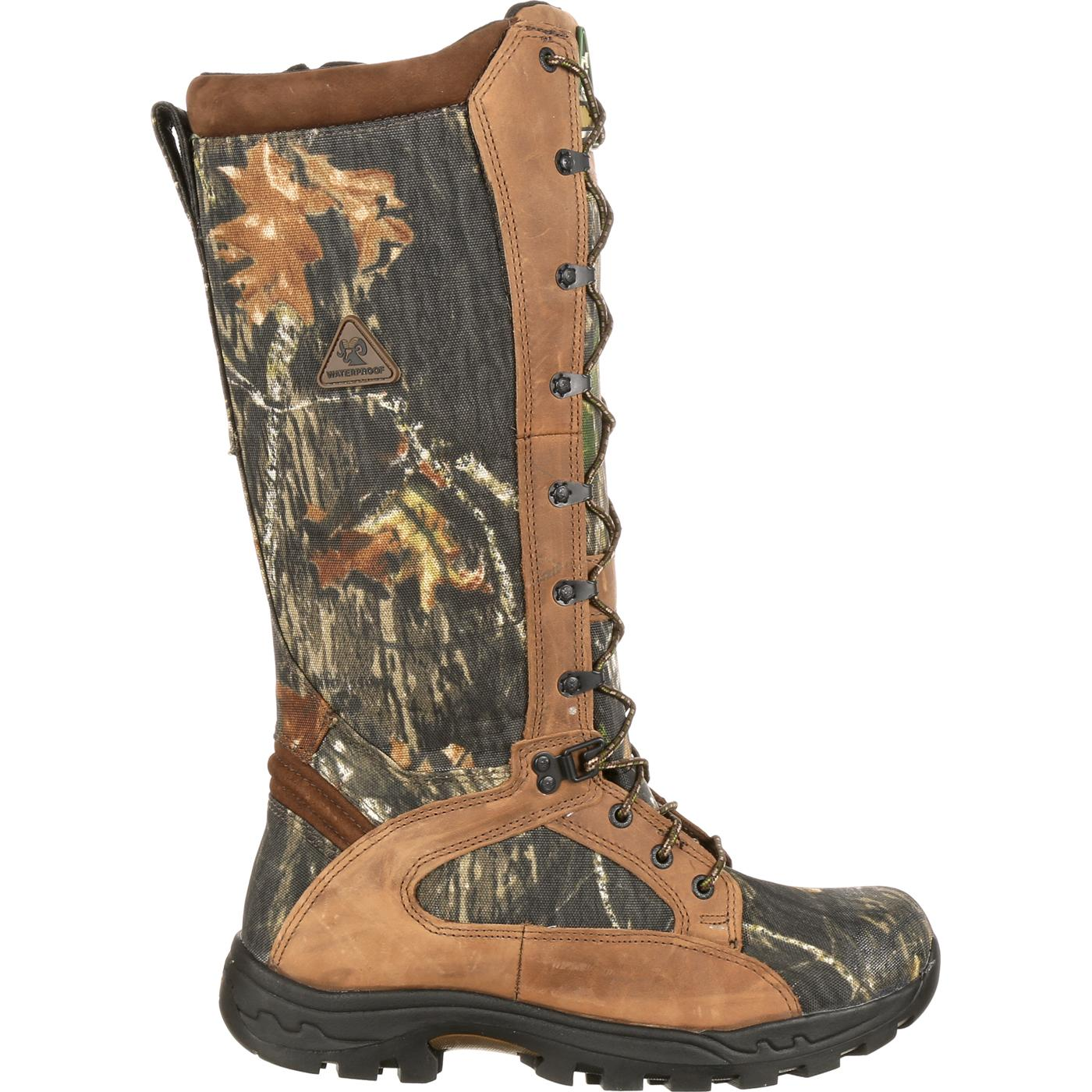 Rocky Men S Prolight Waterproof Camo Snake Boot Fq0001581