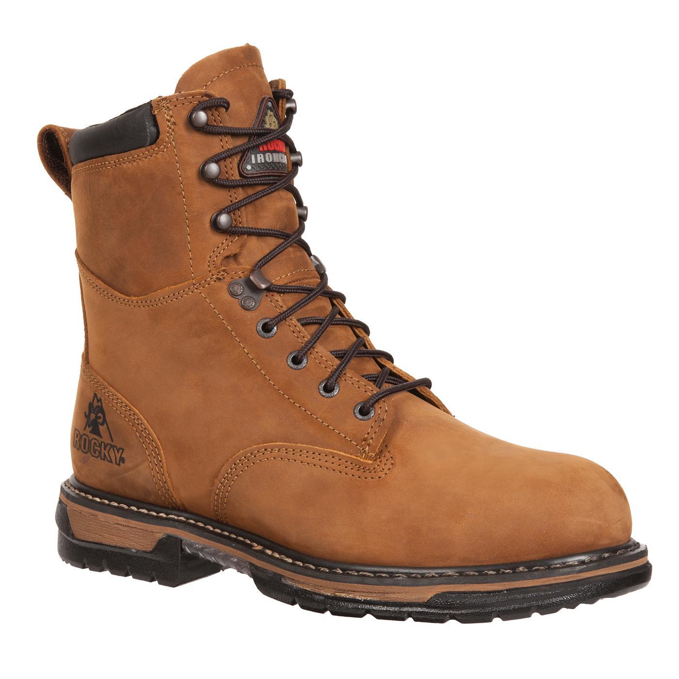 Rocky IronClad: Waterproof Steel Toe Work Boots - Style #6692
