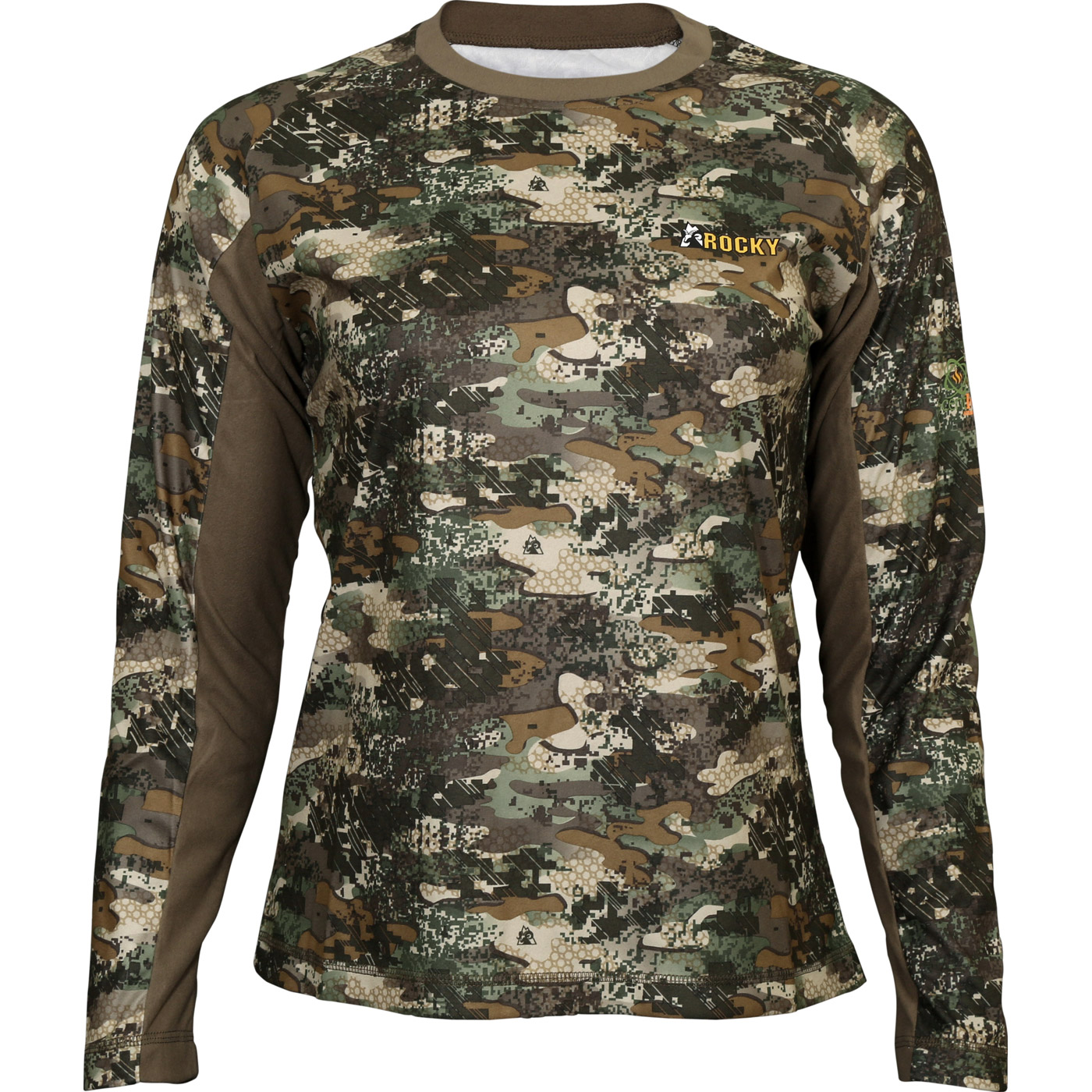 b0ed9509d1ecb Rocky SilentHunter Women's Long-Sleeve Shirt, Rocky Venator Camo, large