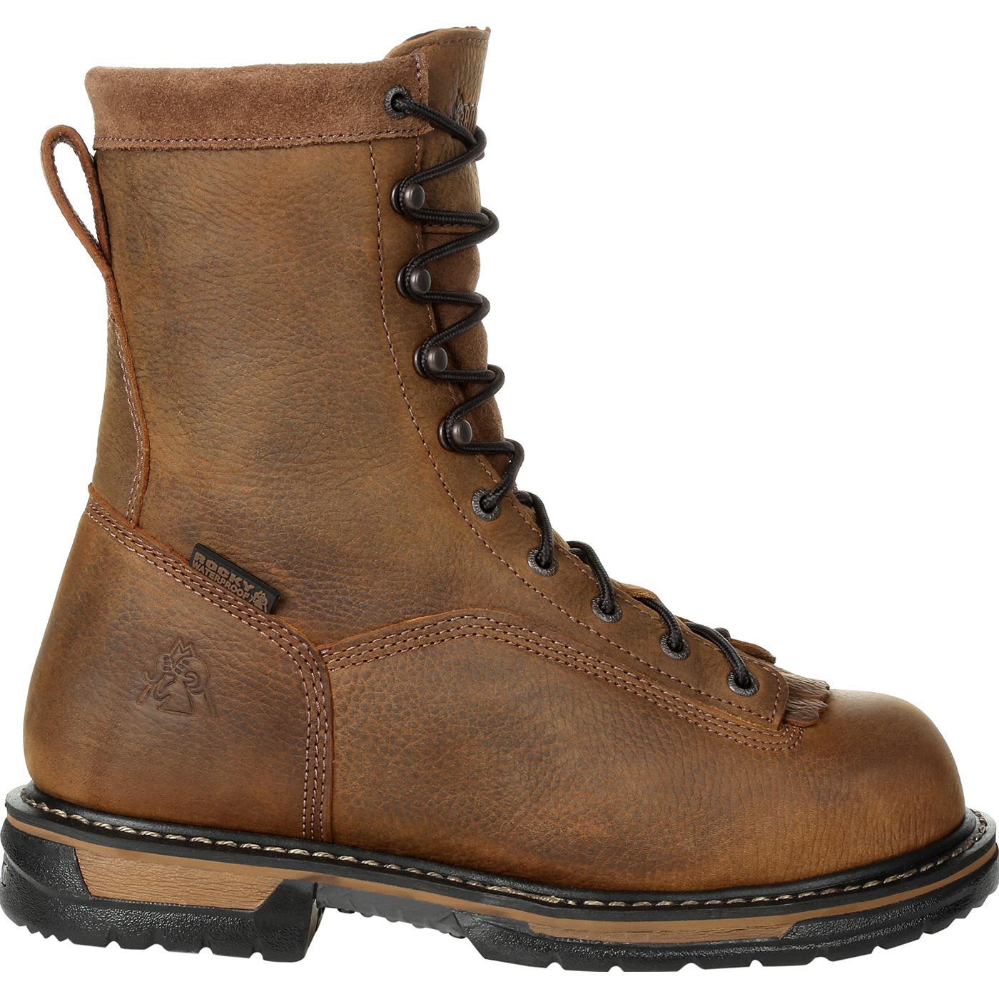421de58ba58 Rocky IronClad Waterproof Work Boot