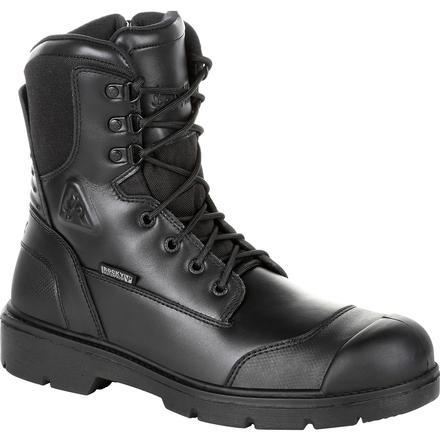 Rocky Pursuit Steel Toe Waterproof Public Service Boot, , large