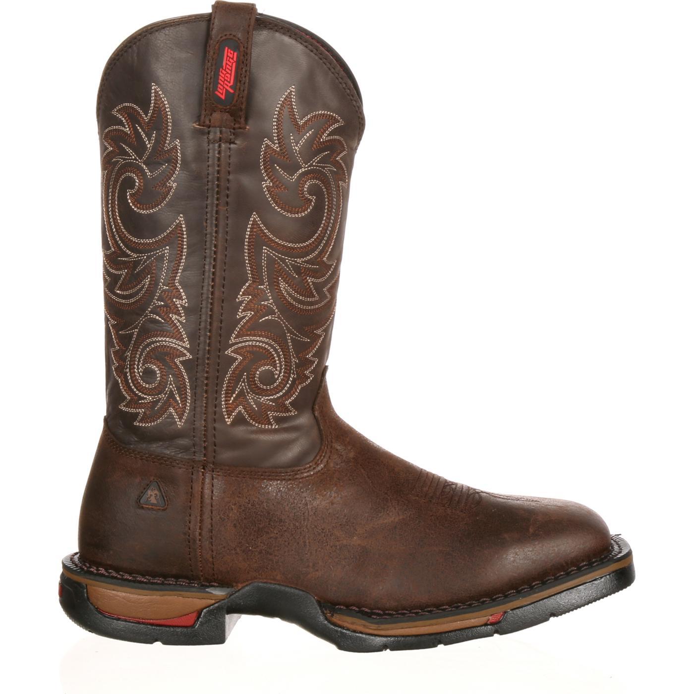 rocky range s comfortable western work boots