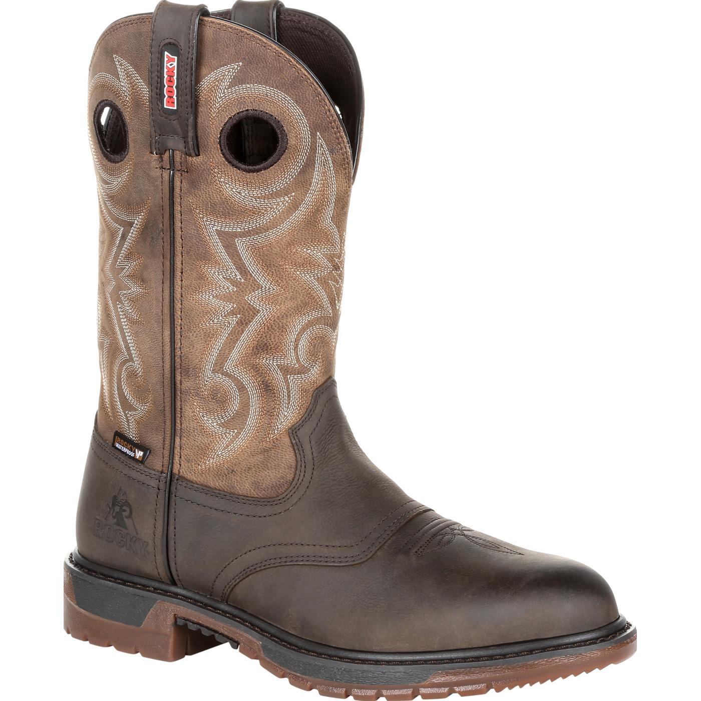 703a54f372e Rocky Original Ride FLX Waterproof Western Boot