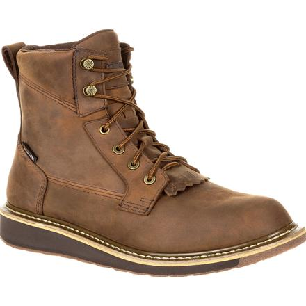 Rocky Cody Waterproof Lacer Western Boot, , large
