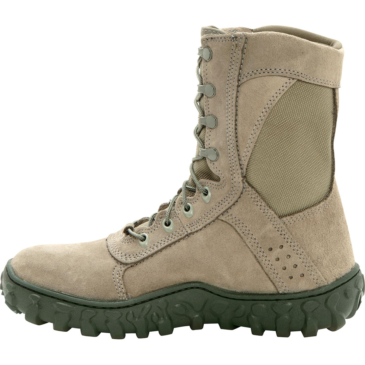Sage Green Steel Toe Rocky S2V Military Boot 608800c8ab97