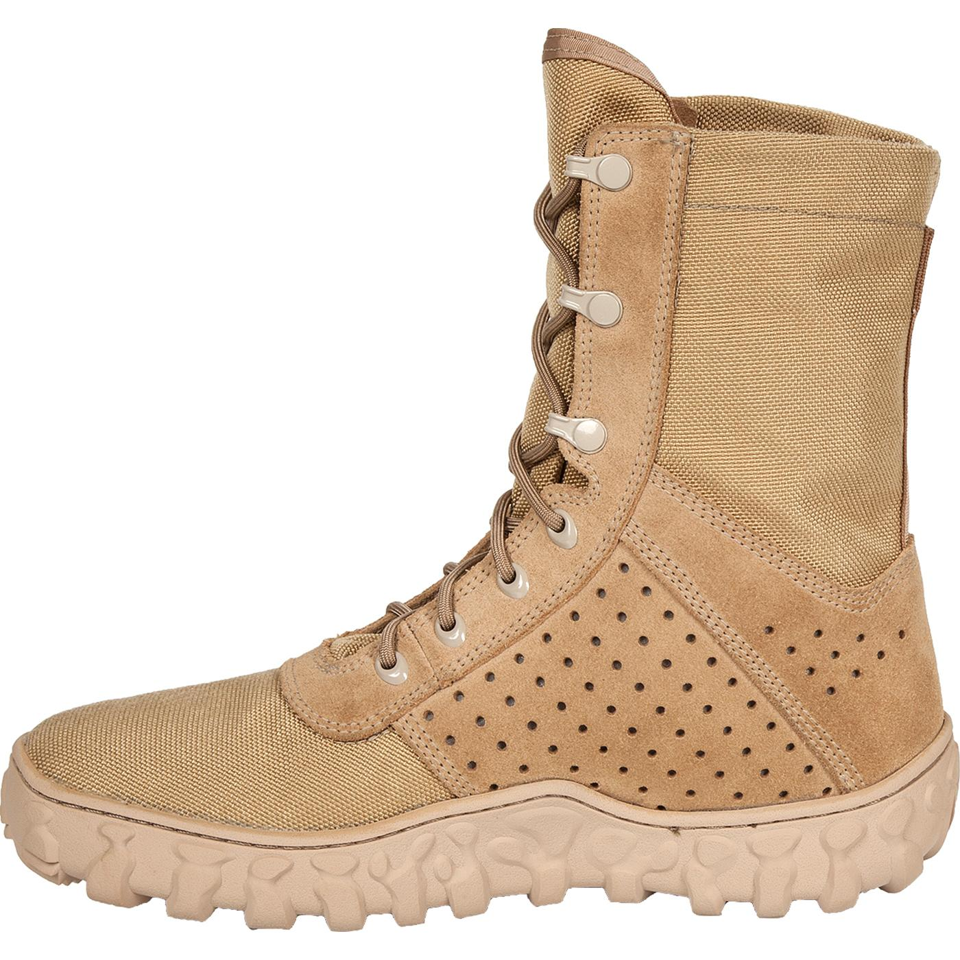 Rocky S2V Military Jungle Boots in Desert Tan, #RKYC002