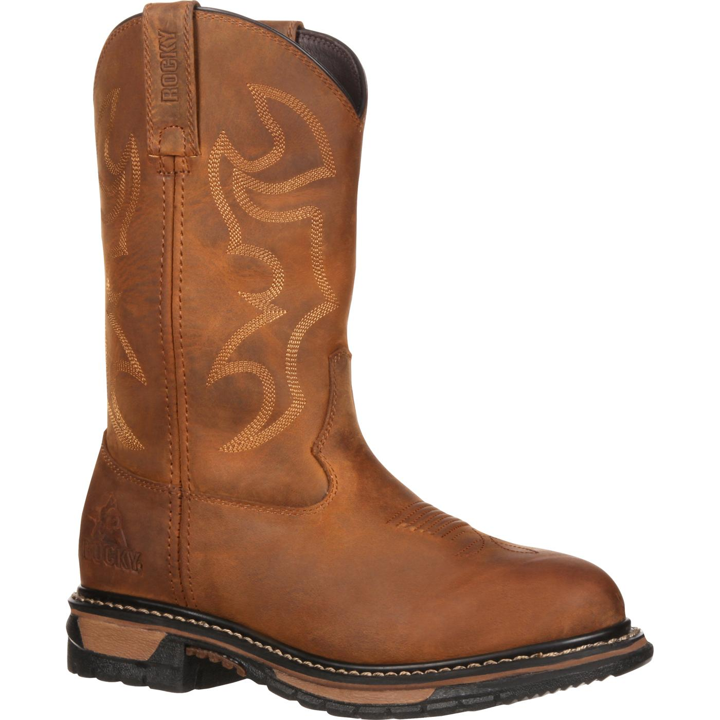 bb45bdb3f8f Rocky Women's Original Ride Waterproof Western Boot