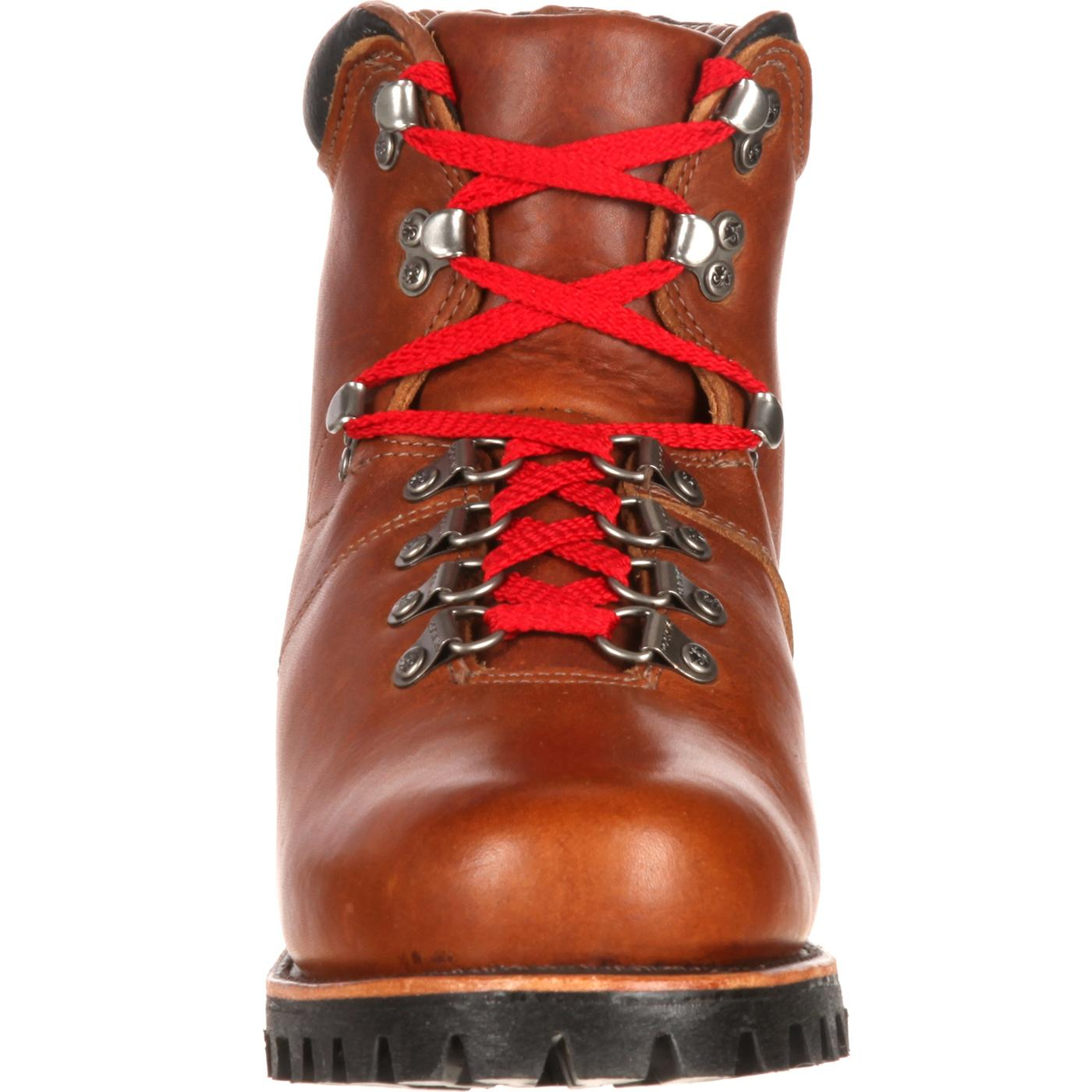 1ddd254be113 Rocky Boots Traditional Heritage Throwback Red Laces Hiker