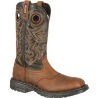 Rocky Original Ride Waterproof Western Saddle Boot, , medium