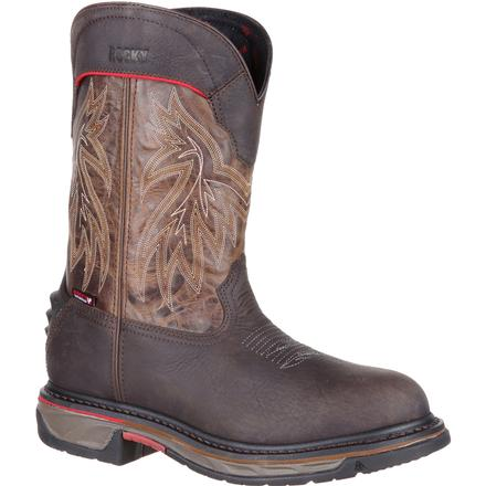Rocky Iron Skull Waterproof Western Boot