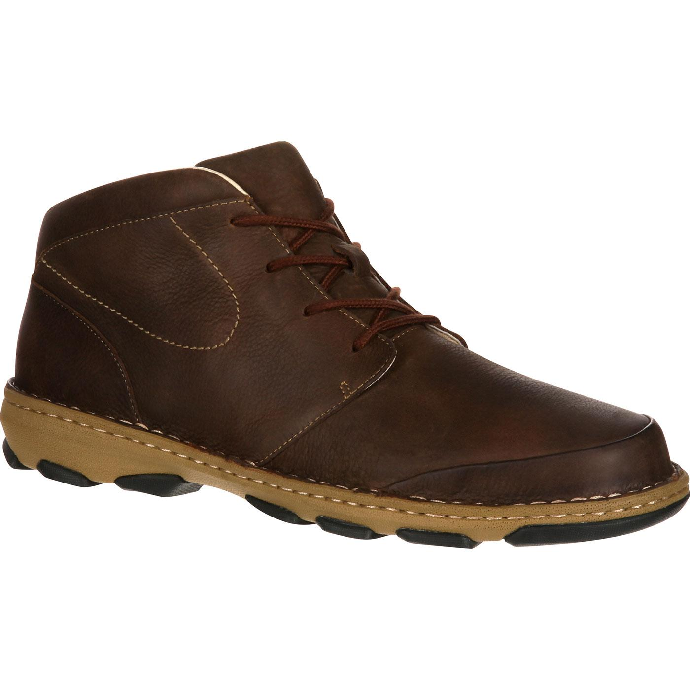 Rocky Cruiser Casual Men S Brown Leather Chukka Boots