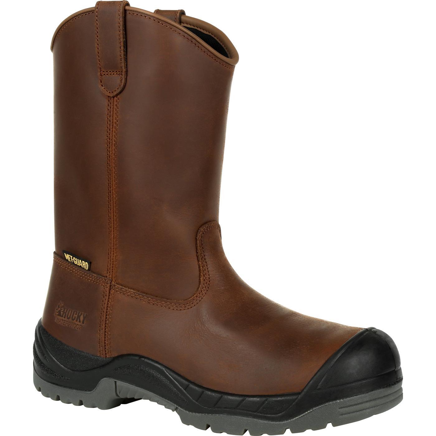 9c1bdae978d Rocky Worksmart Composite Toe Internal Met Guard Waterproof Work Boot