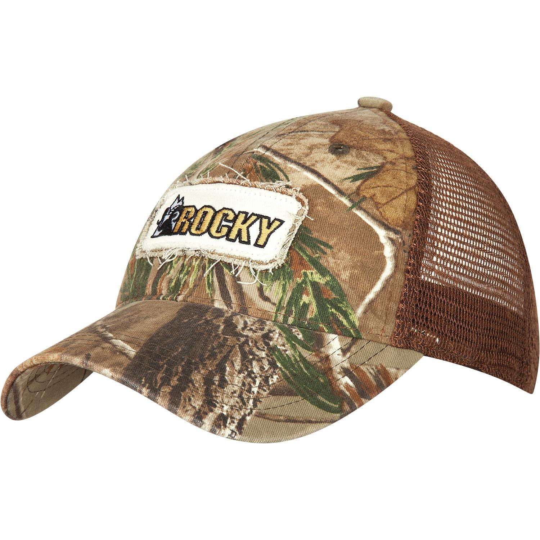 5463891bfc7 Rocky Men s Mossy Oak Camo Trucker Cap - style  LW00047