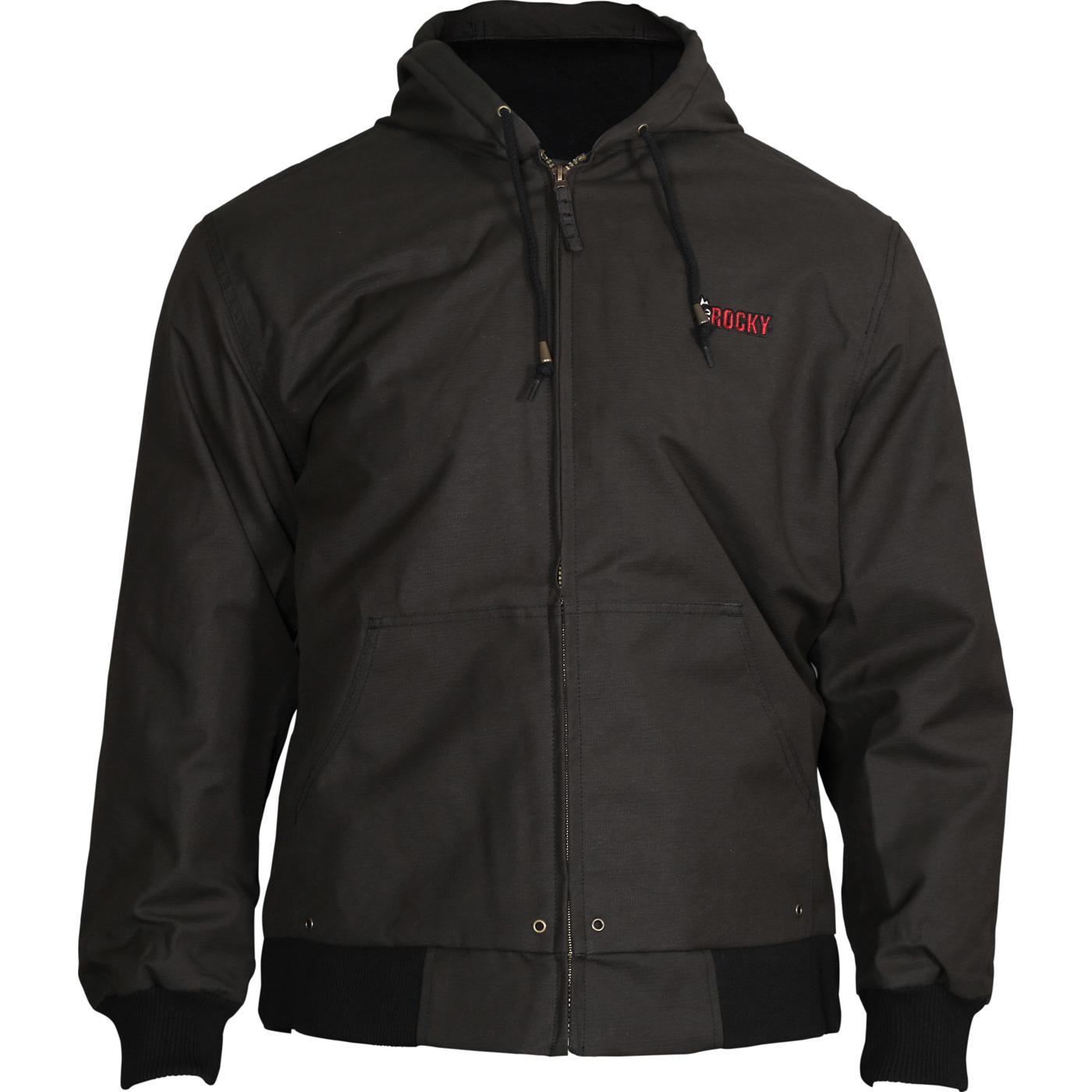 Rocky Men's Waterproof Insulated Hooded Jacket
