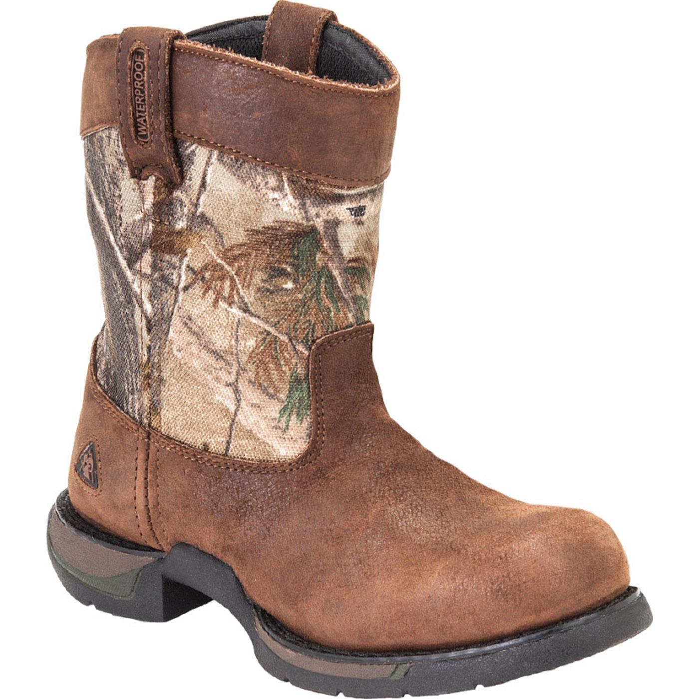 Kid's Footwear: Rocky Long Range Waterproof Leather Boots - Style ...