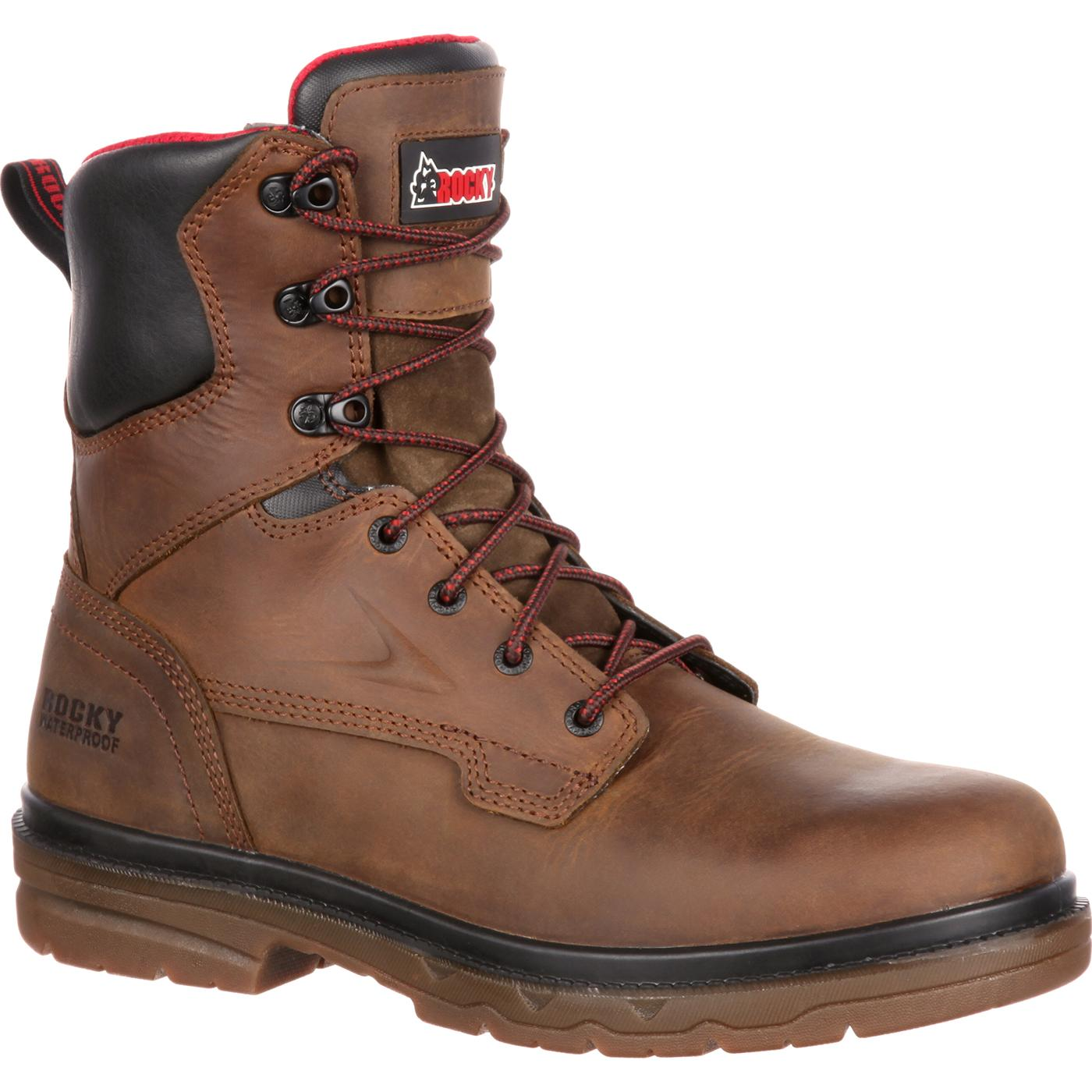 Rocky Elements Shale Men's Waterproof Work Boot for drilling