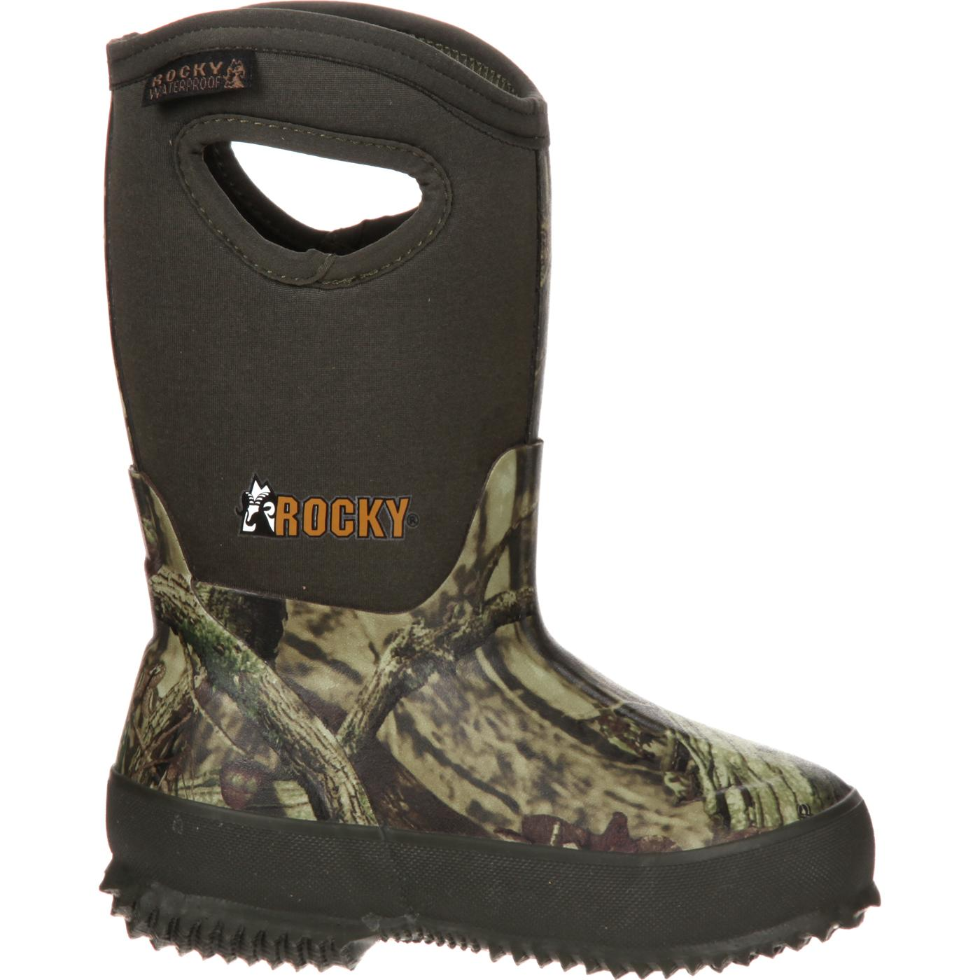acf7f3865 Rocky Core Kids  Rubber Waterproof Insulated Pull-on Boot