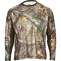Rocky SilentHunter Long-Sleeve Scent IQ Shirt, Rltre Xtra, medium