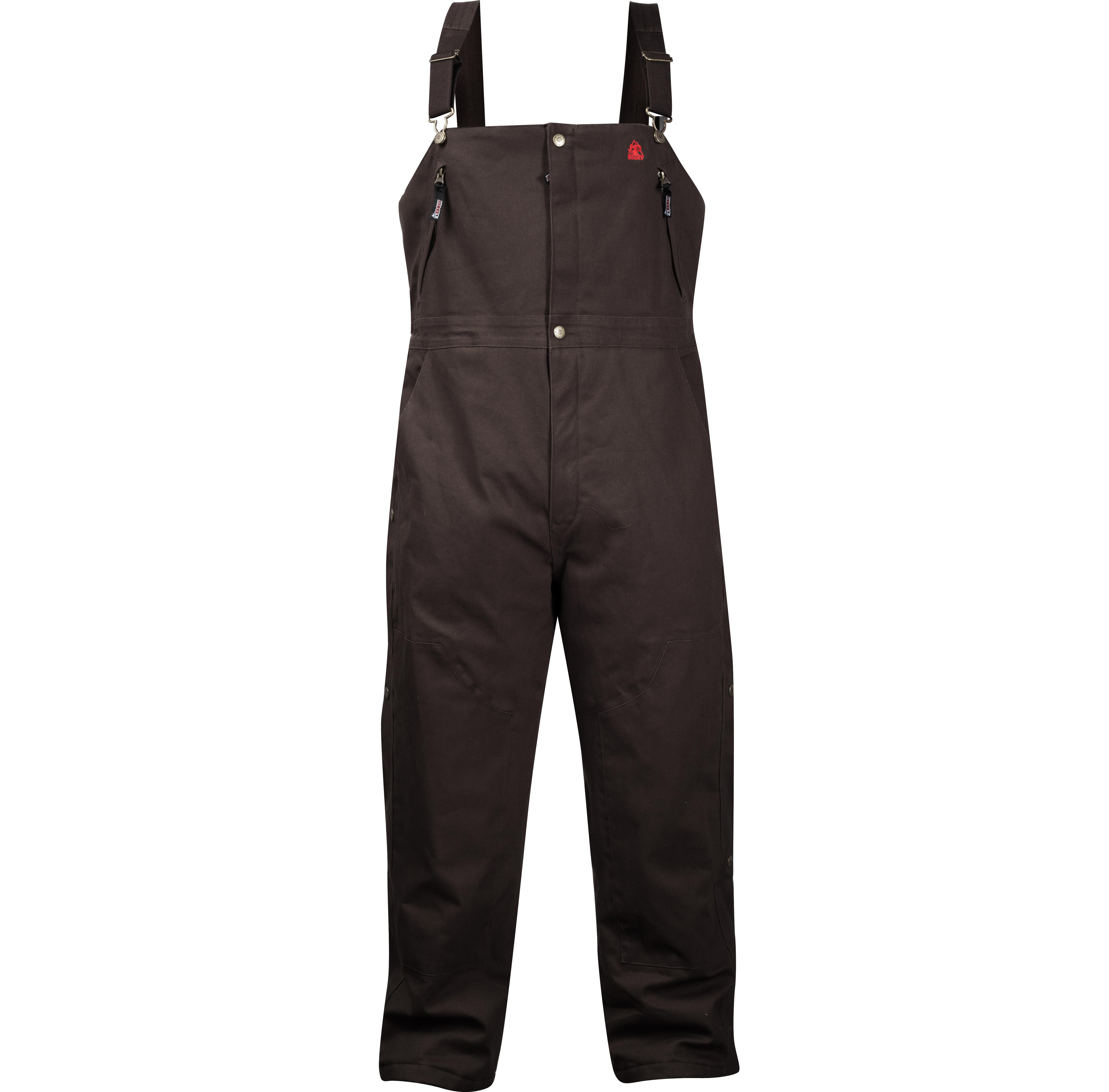 Rocky Workwear Insulated Waterproof Men S Bibs Style 628504