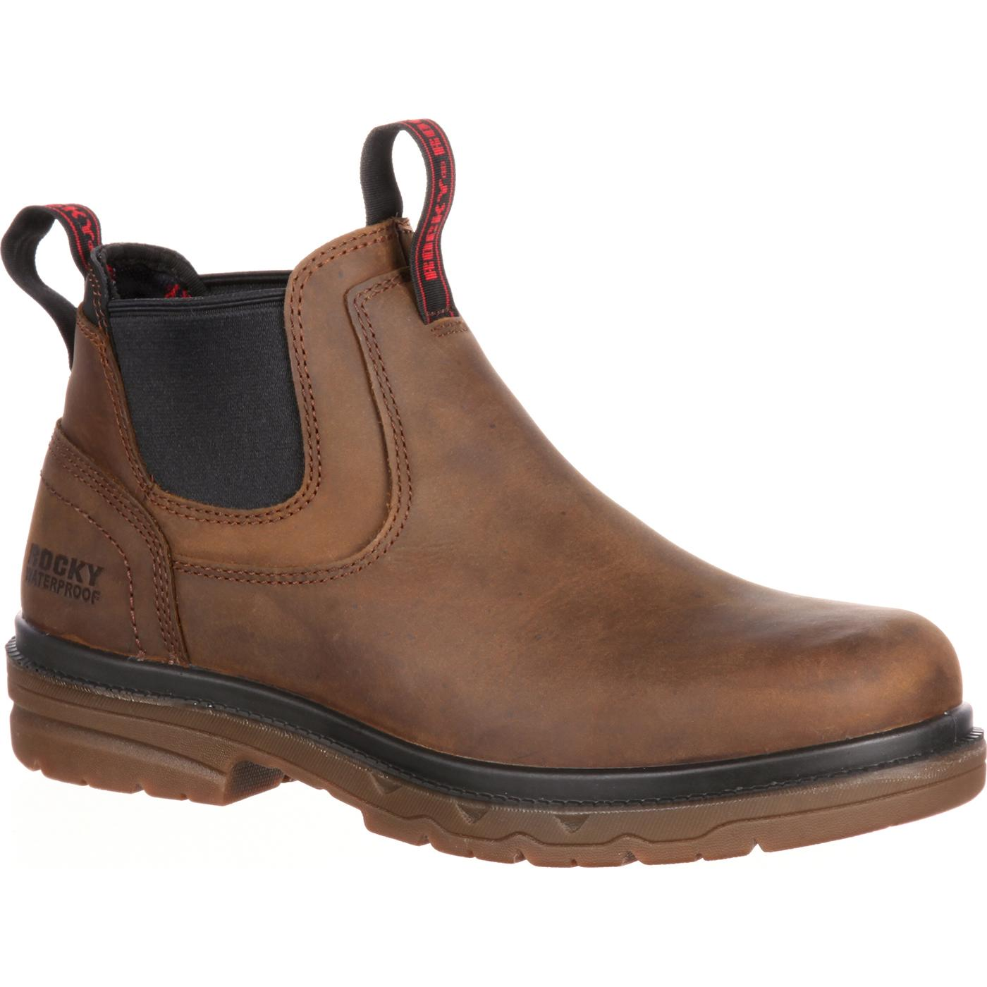 Rocky Elements Shale Steel Toe Waterproof Romeo Work Boot