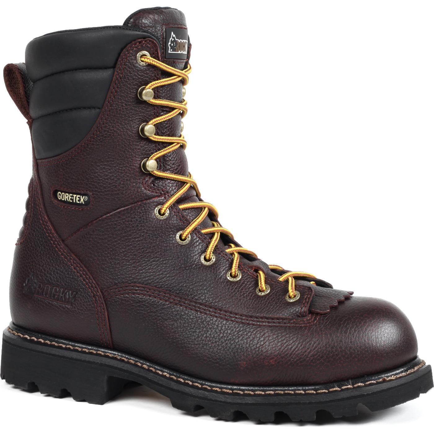 ROCKY: Men's Great Oak Composite Toe Waterproof Low-Heel Logger ...