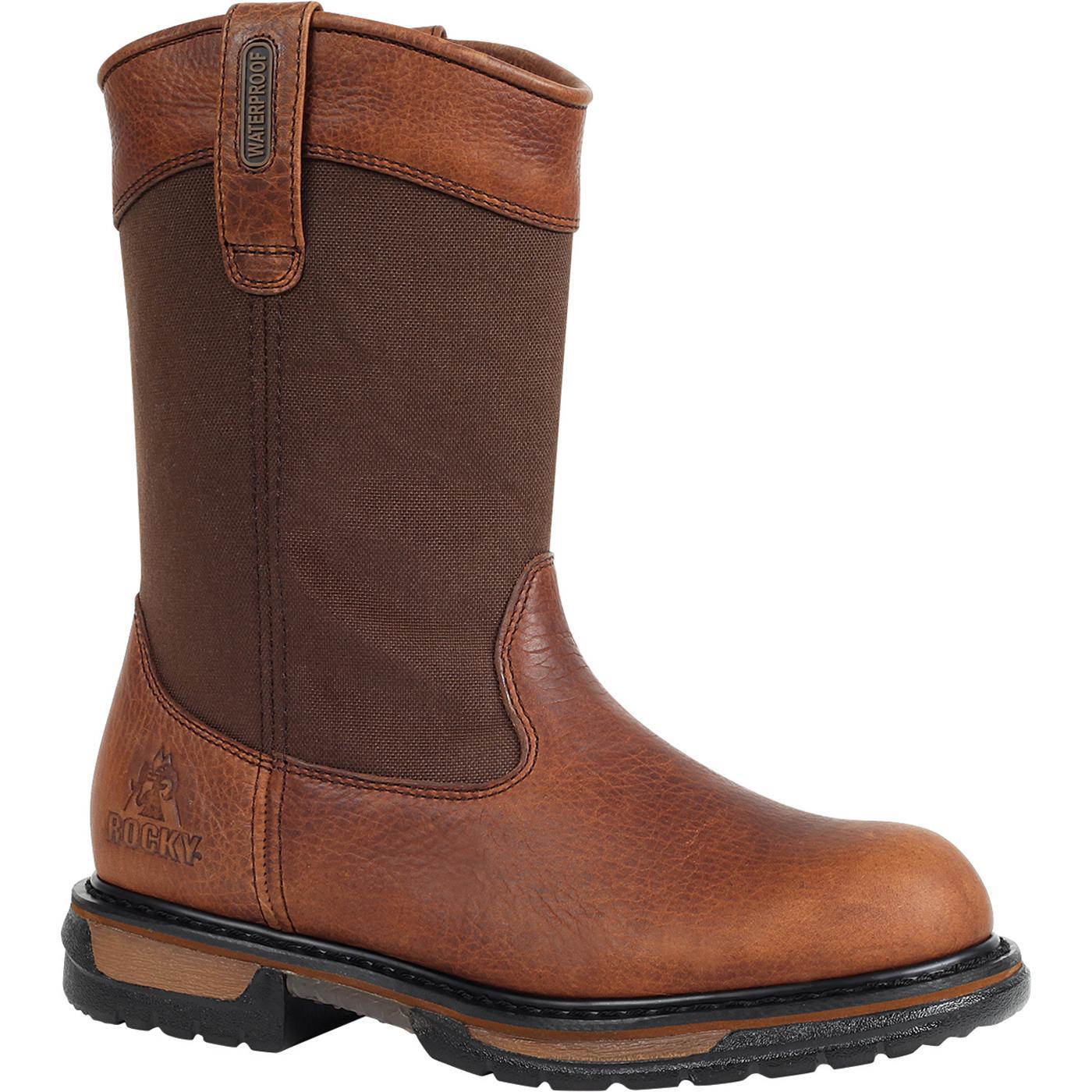 f20ea1fff17 Rocky IronClad Waterproof Wellington Work Boot