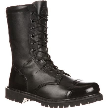 Rocky Duty Boots Men S Side Zipper Jump Boots