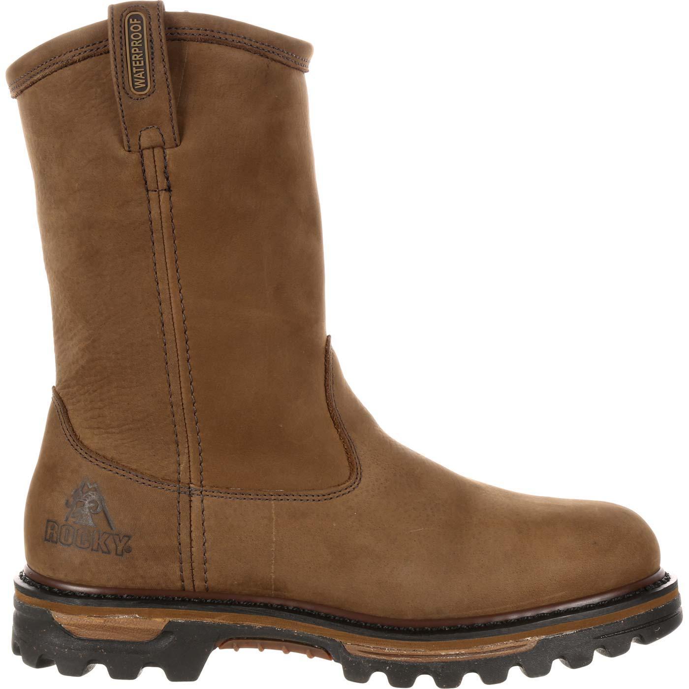 7333315331c Rocky Ironclad Waterproof Wellington Work Boot